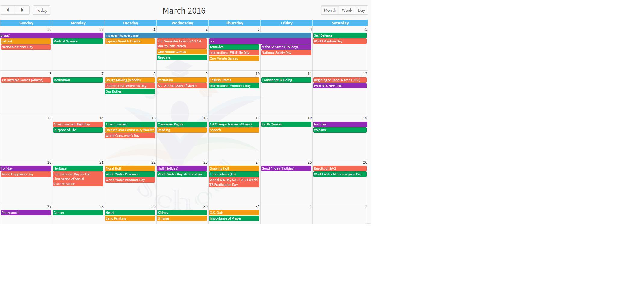 Calendar Event1